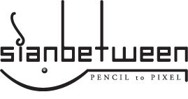 sianbetween : pencil to pixel